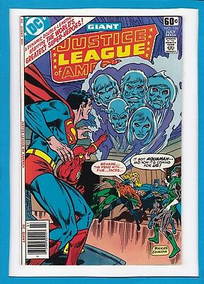 Justice League Of America #156_July 1978_Very Fine/near Mint_Bronze Age Giant!
