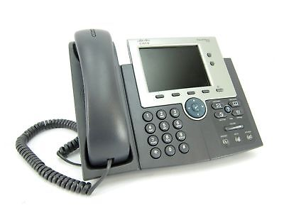 Lot of 10 Cisco CP-7945G VoIP Color Display Business Phone w/ Handset/Stand/Cord