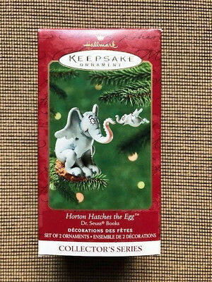 NIB Hallmark Keepsake Collector's Series Horton Hatches the Egg Ornament #3
