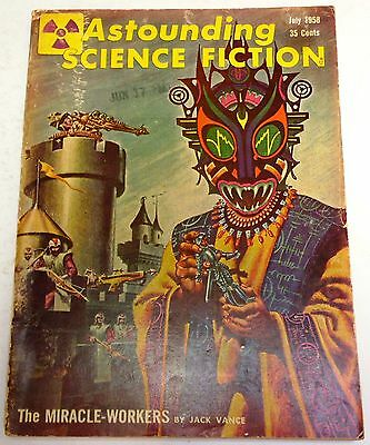 Astounding Science Fiction - US Digest - Vol.61 No.5 - July 1958 - Jack Vance