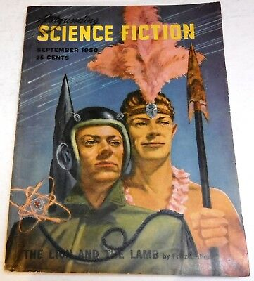 Astounding Science Fiction – US digest – Sept. 1950 - Vol.46 No.1 - C. L. Moore