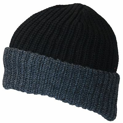 Wholesale Winter Sale 12 Mens Fleece Lined Beanie Hats Homeless Charity £1.25