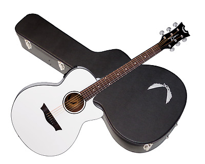 DEAN Axcess Performer Cutaway acoustic electric GUITAR new Classic White w/ Case