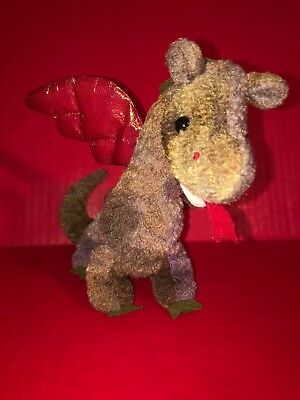 756d22a35a8 Scorch the Dragon TY Beanie Babies 1998 NM very NO TAGS