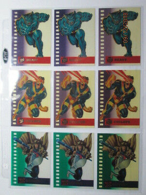 1995 Ultra X-Men - Suspended Animation Cards - Pick One