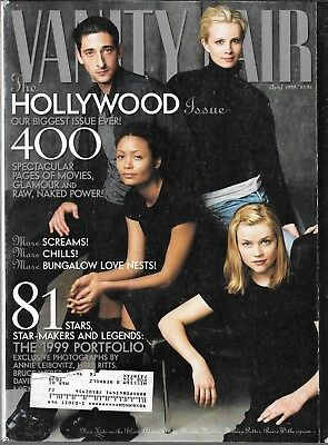 Vanity Fair Magazine April 1999 Hollywood Issue (Vg)