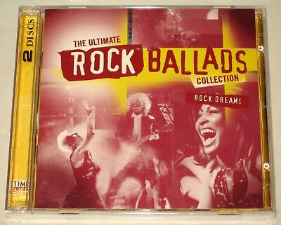 The Ultimate Rock Ballads Collection - 2 Cd Set - New - Sealed - Time Life