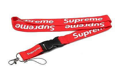 Supreme Lanyard Double-Sided Red Urban Streetwear