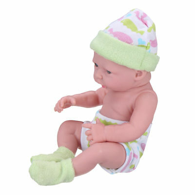 Newborn Baby Doll Toy Soft Vinyl Silicone Doll Gift Lifelike Baby Kid Gift UK