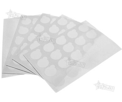100x Disposable Glue Cover Sticker Gasket For Eyelash Extension Makeup Can