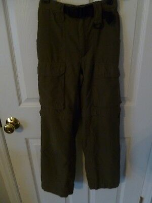 Boy Scouts of America Switchback Pants Youth Medium 12/14 Zip Off