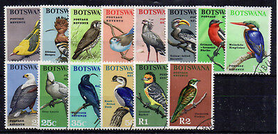 Botswana 1967 Birds set to 2r FU CDS