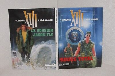 XIII ( double 5&6 ).Rouge total / Le dossier Jason Fly BB5
