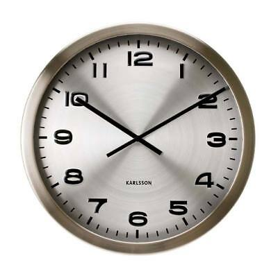 Karlsson KA4626 - Wall Clock - Metal  - XXL Clock - Office Clock - New