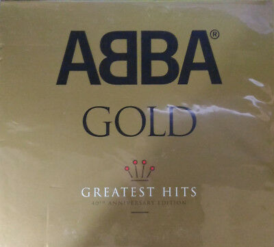 ABBA ‎– Gold (Greatest Hits) 40th Anniversary Edition 3CD NEW/SEALED Digipak