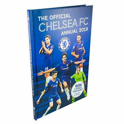 The Official Chelsea FC Annual 2019 - Hardback Book