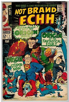 Not Brand Echh #7 1968 Kirby Severin Marvel Silver Age!