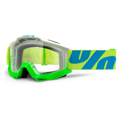 100% - Accuri Barracuda Clear Lens Adult Goggles