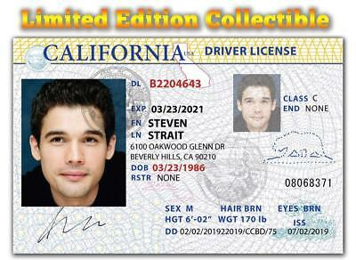 Steven Strait Limited Edition Superstar Collectible License