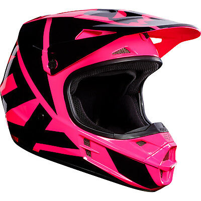 Fox - V1 Race Pink Unisex Adult Helmet - Small