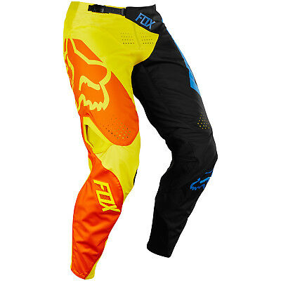 Fox - 360 Preme Black/Yellow Men Pants - 36