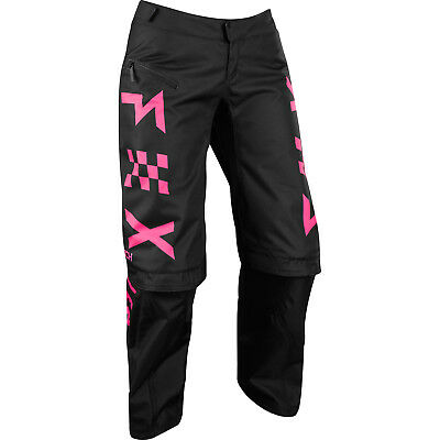 Fox - Switch Black/Pink Women Pants - 12