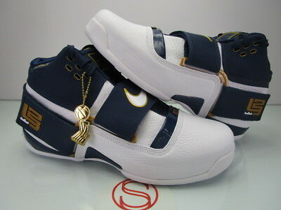 best sneakers dd70d bbff9 DS NIKE ZOOM Lebron Soldier CT16 NAVY WHITE 12