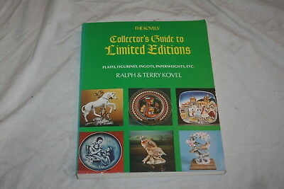 The Kovel's Collector's Guide to Limited Editons Plates, Figurines, Ingots...
