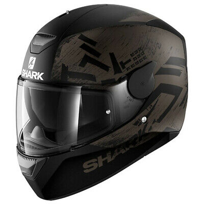 Shark 2017 - D-Skwal Hiwo Black Helmet - X-Large