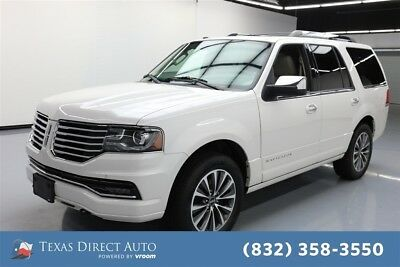 2017 Lincoln Navigator Select Texas Direct Auto 2017 Select Used Turbo 3.5L V6 24V Automatic 4WD SUV Premium