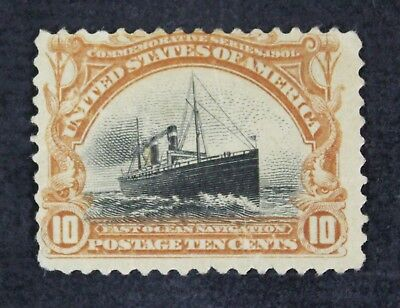 CKStamps: US Stamps Collection Scott#299 10c Unused NG Thin