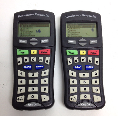 Renaissance Classroom Learning Responder 2Know Remote Clicker