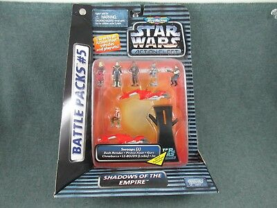 1996 Star Wars Micro Machines Battle Pack #5 - Shadows of  the Empire NOS
