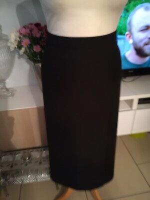 Ann Harvey Black Skirt Size 28 New Without Tags