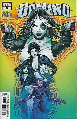 Domino #6 (2018) Marvel Comics V/f+