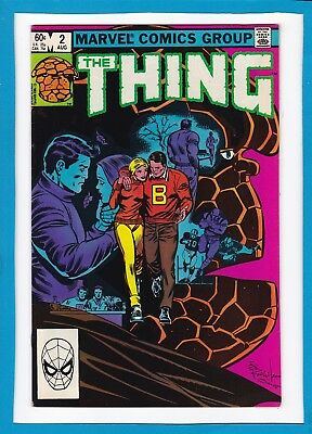"The Thing #2_August 1983_Very Fine+_Fantastic Four_""for Beauty Passed Away""!"