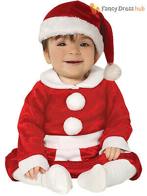 a5299ebb7513 SANTA COSTUME TODDLER BABY Christmas Santa Claus Suit Fancy Dress ...