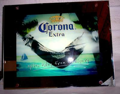 Corona Beer Lighted Sign w/Motion and Sound