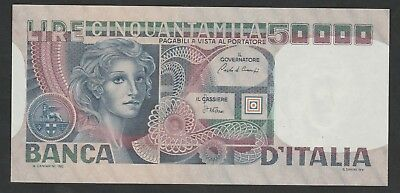 50000 lire From Italy 1980 Unc