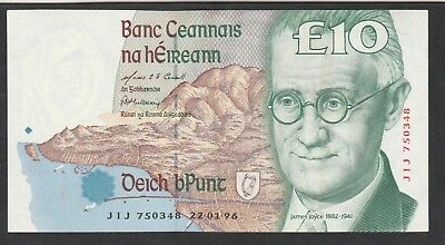 10 Pounds From Ireland 1996 Unc