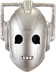 Cosplay--Doctor Who - Cyberman Vacuform Mask