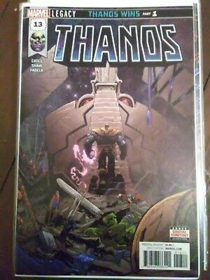 Thanos #13 FIRST PRINT 2018 1st Appearance COSMIC GHOST RIDER Donny Cates