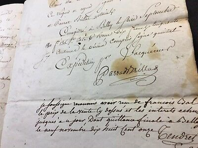 Very Old Document 1811