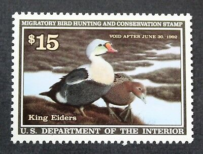 CKStamps: US Federal Duck Stamps Collection Scott#RW58 $15 Mint NH OG