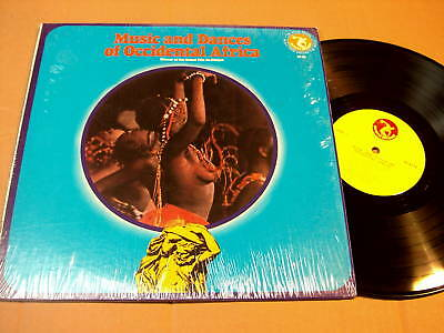 Music And Dances Of Occidental Africa - Lp Olympic Rec.