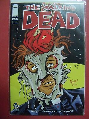 THE WALKING DEAD #1 WIZARD WOLD COMIC CON RALEIGH (9.4 Or Better) 2015 IMAGE