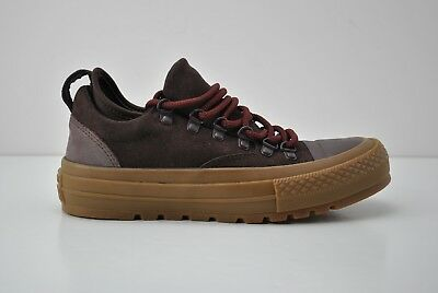 2541ccaadea Converse Chuck Taylor Descent Low Top Shoes Womens Size 5.5 Brown Suede  153686C