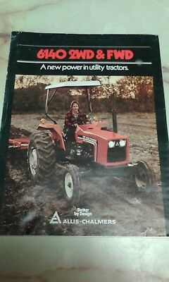 Allis Chalmers 6140 2WD&FWD tractor specs