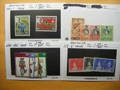 3984 Jamaica Lot of 4 Mint Stamp Packs