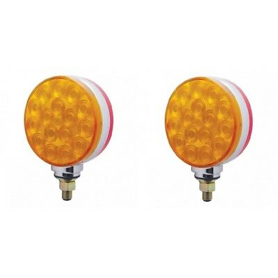 Peterson Manufacturing 313AA Amber Double-Face Park and Turn Signal Light